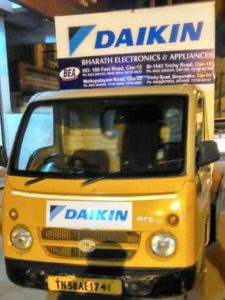 BEA with Daikin on the road
