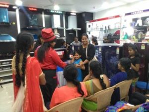 Microwave oven cookery show at Trichy